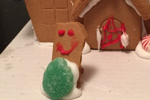 Undone CHRISTmas Part Two: Gingerbread Houses are Meant for Eating