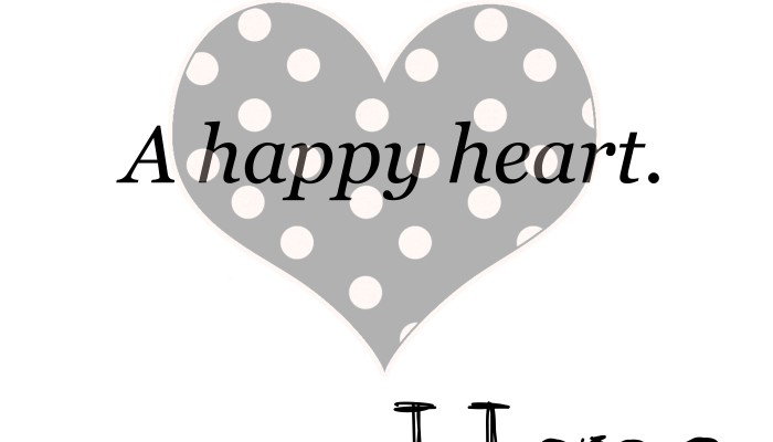 One Call, Kind Words, a Happy Heart and Hope